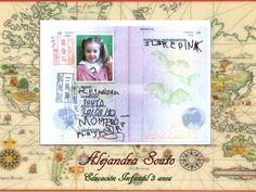 Editado pasaporte india infantil 3 anos