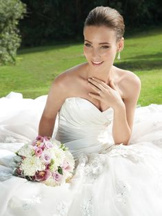 Wedding Dresses Spring 2013 - Sophia Tolli Collections - StyleMePretty LookBook - Style Me Pretty