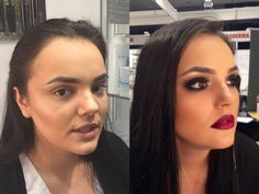 before & after #slaparisromania MUA: Andreea Anton