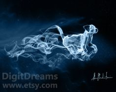 Terrier, which Rowling has said to have as a pet, is Ron Weasley's Patronus. Terriers are known for their loyalty and protectiveness, and have a lively, energetic, and almost hyperactive personality. They are also particularly noted for chasing otters in deep water.