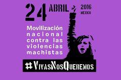 La primavera será violeta #24A #VivasNosQueremos