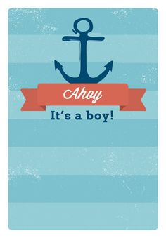 ahoy itu0027s a boy free printable baby shower invitation template greetings island