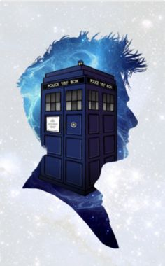Ten and the TARDIS. I would love this in poster form.