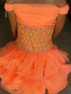 beautiful custom girls pageant dress $500.00