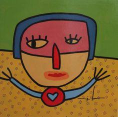 Milo Lockett Arte Online, Outsider Art, Red Cross, Folk, Exhibitions, Museums, Embroidery, Illustrations, Blue Prints