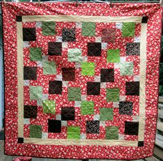 D9P Quilt - Windmill Layout by Pam @ Hip to be a Square