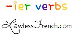 French verbs that end in -ier are regular -er verbs, but that -i- in front of the infinitive ending can be a little confusing, so here's a closer look. - Lawless French