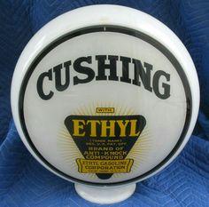 Original Cushing Ethyl Gas Globe