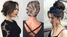 Unique PROM UPDOS for Long Hair 💕 2018 Hairstyles Compilation - YouTube