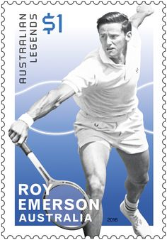 Australian Legends of Singles Tennis, circa 2016 Lleyton Hewitt, Tennis Australia, Postage Stamp Collection, Tennis Legends, Vintage Tennis, Different Sports, World Of Sports, Tennis Players, Aussies