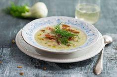 Fenchelsuppe mit Pancetta ©feinkoch