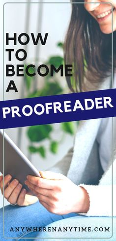"Are you a ""grammar nerd?"" Proofreading would be a great option for you especially if you are looking for a way to make money from home. Get the scoop on how you can get the tips and training you need to started making extra money from home today! Work From Home Business, Work From Home Moms, Make Money From Home, Way To Make Money, Make Money Online, Online Business, How To Make, Business Ideas, Working Mom Tips"