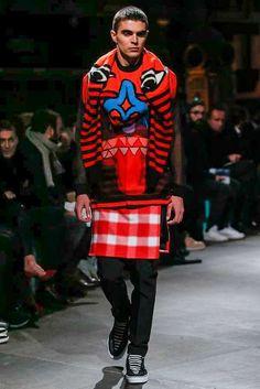 Male Fashion Trends: Givenchy Fall-Winter 2017 - Paris Fashion Week