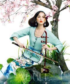 """Vogue Korea """"Spring Breeze"""""""