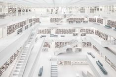 City Library Stuttgart: Spectacular Architecture Photography by Thomas Ebert #photography #Stuttgart #architecture