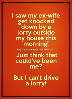 Funny Irish Jokes, Funny Jokes For Adults, Silly Jokes, Wife Jokes, Jokes And Riddles, Alcohol Humor, You Funny, Funny Stuff, Marriage Humor