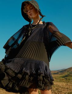 ELLE UK March 2017 Amalie and Cecilie Moosgaard by Kai Z Feng - Fashion Editorials