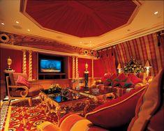 Living room @Burj Al Arab, Dubai, UAE