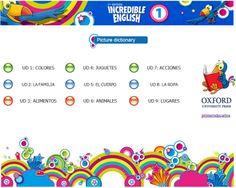 INCREIBLE DICCIONARIO ILUSTRADO CON SONIDOS EN INGLES Infantil y Primaria