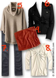 how to wear 15 items 20+ outfits- business casual- part 2