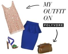 """""""golden blues"""" by choquitaz on Polyvore"""