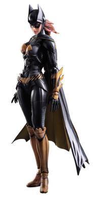 Figura Batgirl 25 cm. Batman: Arkham Knight. Play Arts Kai. Square-Enix Foto 1