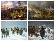 Bitwa pod Borodino, Pożar Moskwy, Marszałek Ney w bitwie pod Kownem, Odwrót Francuzów