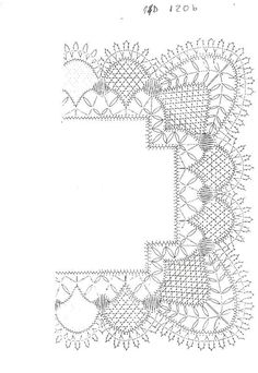Pañuelo Bobbin Lace Patterns, Tatting Patterns, Crochet Patterns, Crochet Doilies, Crochet Lace, Doily Art, Bobbin Lacemaking, Vbs Crafts, Crochet Borders
