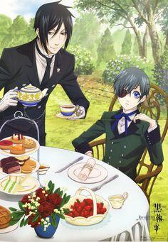 Ciel and Sebastian, Kuroshitsuji