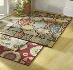 Designed for use indoors or out, this rug is made of fade-, mold- and mildew-resistant fibers; Rug pad recommended for indoor use sold separately. Mold And Mildew, Indoor Outdoor Rugs, Montgomery Ward, Design, Home Decor, Decoration Home, Room Decor, Home Interior Design