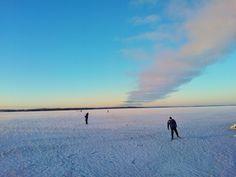 Lake Näsijärvi in Tampere, Finland. Winter 2014. Photo by Sari Mäkelä. www.tampereallbright.fi