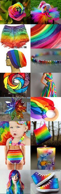 Over the Rainbow Treasury by Amie and Aletta Bernal on Etsy--Pinned with TreasuryPin.com