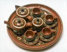 She always picked up a new piece when traveling =Mexican Pottery history and different styles