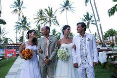 Confira um casamento duplo lindo realizado como destination wedding em Pernambuco!