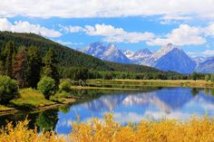 Grand Tetons at Oxbow Bend jigsaw puzzle in Great Sightings puzzles on…