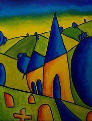 Simon Bramble - Shop - Village Chapel  by Simon Bramble