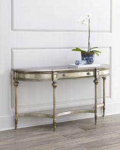 Harmony Console Table at Neiman Marcus.
