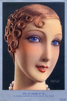 Art Deco | Pierre Imans 1930 Mannequin Head