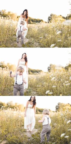 Beautiful Mother Son Maternity Shoot in Caledon