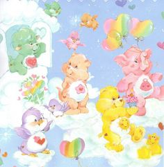 Care Bears and some Cousins