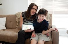 Mom develops iPad app for tracking autism    Karen Carmelli developed an iPad app for tracking her son, Yair, and his autism.  Karen Carmeli's son, Yair, was diagnosed with autism when he was 2 years old.    Every day since then for the past seven years, the Plano mom has accumulated mounds of paperwork from doctor's, therapists, insurance companies, school ...