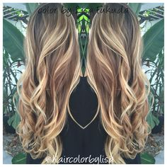 Blonde Soft Ombré Balayage Highlights by Lisa Fukuda @JosephCozzaSalon 77 Maiden Lane Sf Ca 1415 4333030 followme @haircolorbylisa