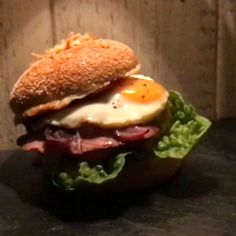 Spontane Burger-Session