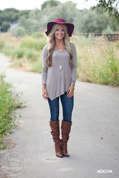 Your basic tunic just got sassy! Spice up your go-to basics with this asymmetrical v-neck tunic!