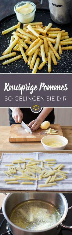 Du willst dir zu Hause richtig gute Pommes machen? Kein Problem. Mit dieser…