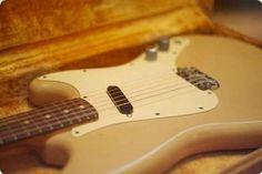 #Fender #Musicmaster #1960 #AllOriginal #Vintageandrare #Vintage #Rare #Music #Instruments