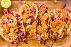 Grilled Shrimp Tacos with Sriracha SlawDelish