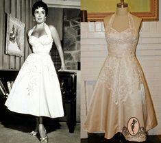 Pinup BrideElizabeth Taylor Short Wedding Dress By