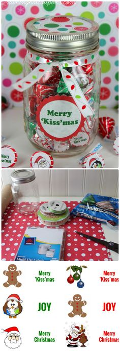 'Kiss'mas Gift in a Jar