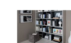 Library bookcase custom design & make at Schmidt in Barnet.